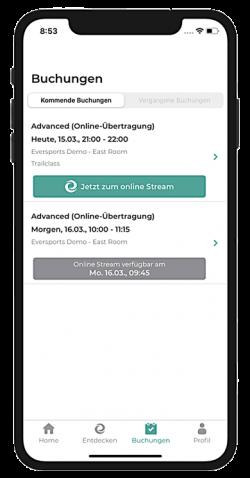 Online Anmeldung App 1