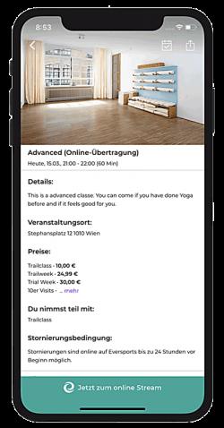 Online Anmeldung App 2