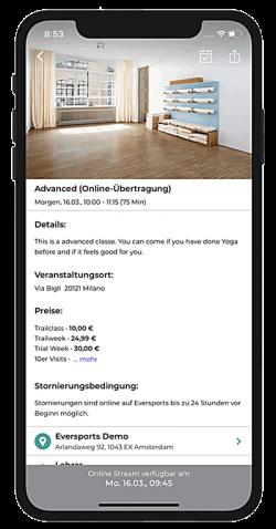 Online Anmeldung App 3